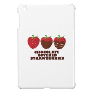 Schokoladen-Erdbeeren iPad Mini Hüllen