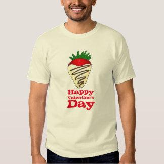 Schokoladen-ErdbeerFeinschmecker-T-Stück des Shirt