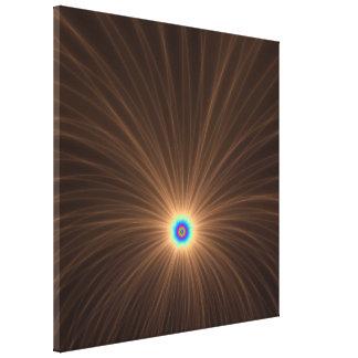Schokoladen-Farbexplosions-Leinwand-Druck Leinwanddruck