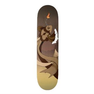 Schokoladen-Geburtstags-Kuchen-Fisch-Skateboard Personalisierte Decks