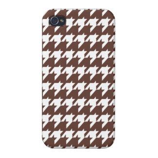 Schokoladen-Hahnentrittmuster Etui Fürs iPhone 4