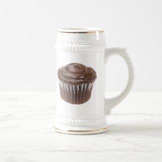 Schokoladen-kleiner Kuchen Bierglas