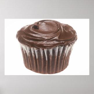 Schokoladen-kleiner Kuchen Plakate