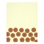 Schokoladen-Kuchen-Muster Bedruckte Flyer