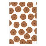Schokoladen-Kuchen-Muster Flyer Druck