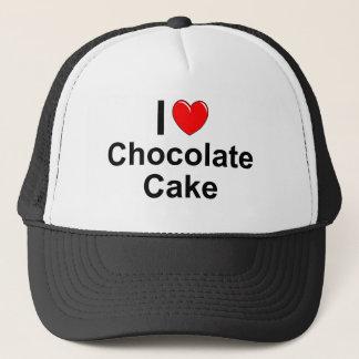 Schokoladen-Kuchen Truckerkappe