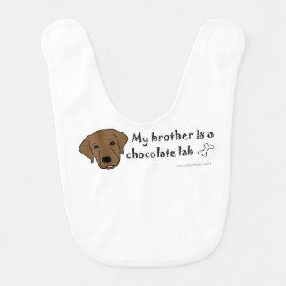 Schokoladen-Labrador Lätzchen