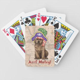 Schokoladen-Labrador-Pirat Bicycle Spielkarten