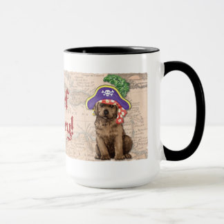 Schokoladen-Labrador-Pirat Tasse