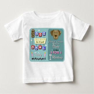 Schokoladen-Labrador-Retriever-Bowling Baby T-shirt