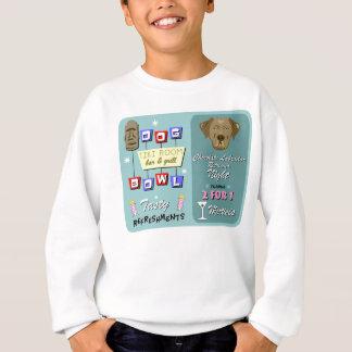 Schokoladen-Labrador-Retriever-Bowling Sweatshirt