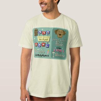 Schokoladen-Labrador-Retriever-Bowling T-Shirt