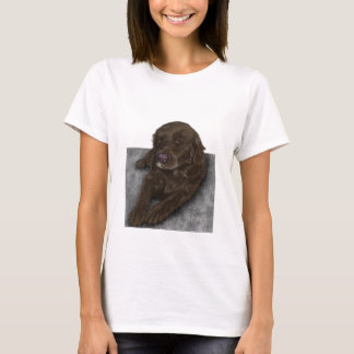Schokoladen-Labrador T-Shirt
