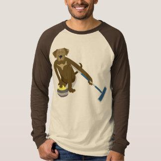 Schokoladen-Labrador-Winden T-Shirt