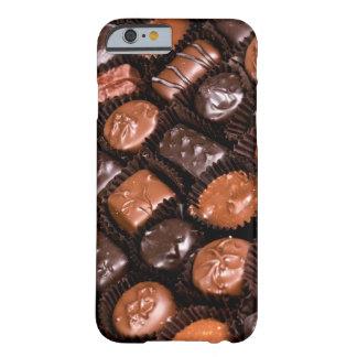 Schokoladen-Liebhaber-Freuden-Kasten der Süßigkeit Barely There iPhone 6 Hülle