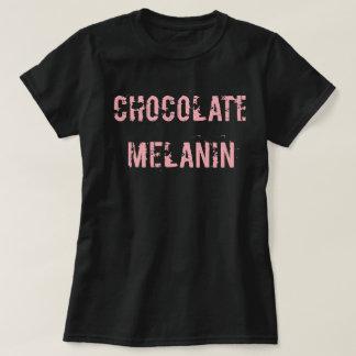 Schokoladen-Melanin-T-Stück T-Shirt