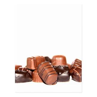 Schokoladen-Postkarte Postkarte