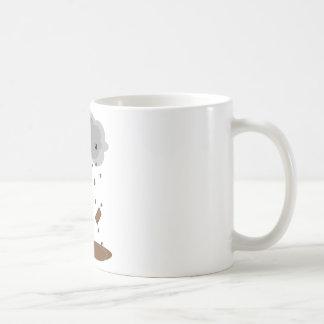 Schokoladen-Regen Kaffeetasse