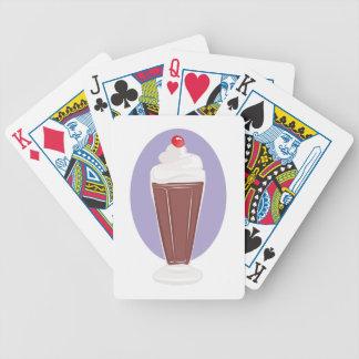 Schokoladen-Soda Bicycle Spielkarten