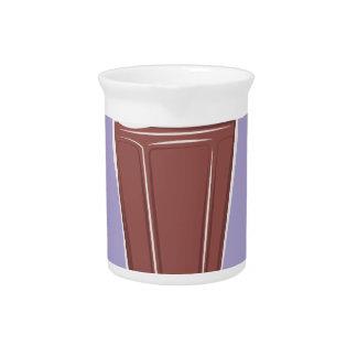 Schokoladen-Soda Getränke Pitcher