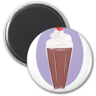 Schokoladen-Soda Runder Magnet 5,1 Cm