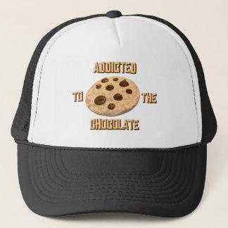 Schokoladen-Süchtiger Truckerkappe
