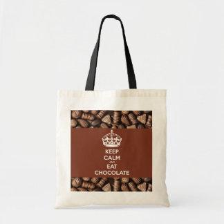 Schokoladen-Taschentasche Tragetasche