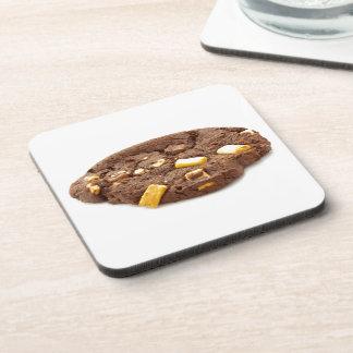 Schokoladen-trinkt dreifaches Chip-Plätzchen Getränkeuntersetzer