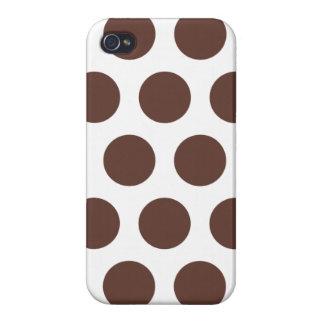 Schokoladen-Tupfen iPhone 4 Schutzhülle