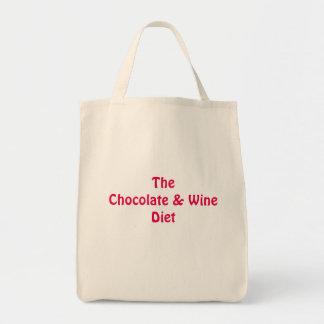 Schokoladen-und Wein-EinkaufsTaschen-Tasche Tragetasche