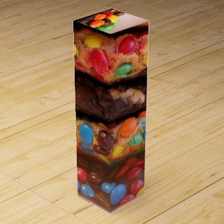 Schokoladen-Versuchung Wein-Geschenkverpackung