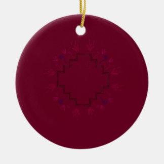 Schokoladen-Verzierungen Keramik Ornament