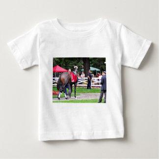 Schokoladen-Wildkatze in den 100. Sanford Stangen Baby T-shirt