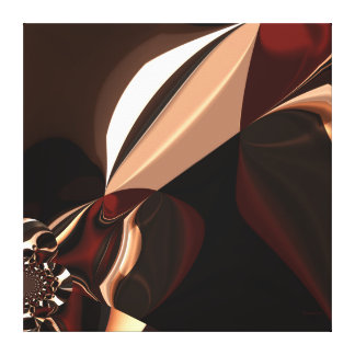 Schokoladenbrauner Schokoladenkasten der Leinwand- Leinwanddruck