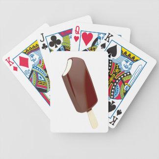 SchokoladenEiscreme Bicycle Spielkarten
