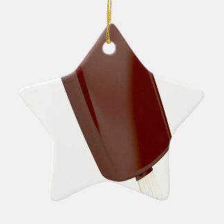 SchokoladenEiscreme Keramik Ornament