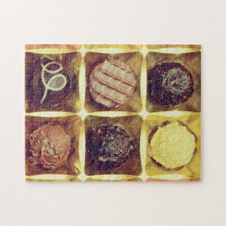 Schokoladenkasten-Fotopuzzlespiel Puzzle
