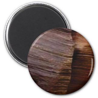 Schokoladenklumpenfelsen Runder Magnet 5,1 Cm