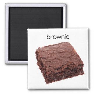 Schokoladenkuchen Refrligerator Magnet Quadratischer Magnet
