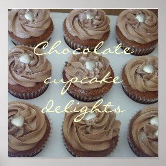 Schokoladenkuchenfreuden Poster