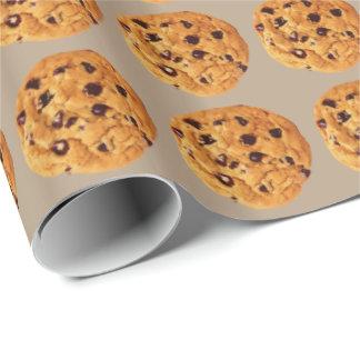 Schokoladensplitter-Plätzchen Geschenkpapier