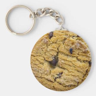 Schokoladensplitter-Plätzchen Schlüsselanhänger
