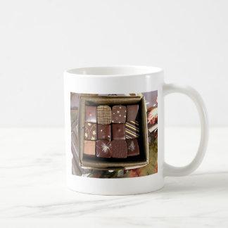 Schokoladenzusammenstellungen Kaffeetasse