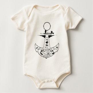 Scholle-Rotbarsch-und Forelle-Fischen-Shirt Baby Strampler