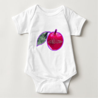 """""""Schön anzubeißender """" rosa Apfel Shirt"""
