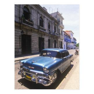 Schön klassisches Chevrolet wieder hergestellt von Postkarte