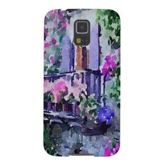 schön, mit Blumen, Balkon, Venedig, Italien, Galaxy S5 Hülle