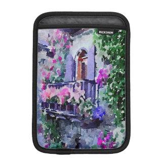 schön, mit Blumen, Balkon, Venedig, Italien, iPad Mini Sleeve