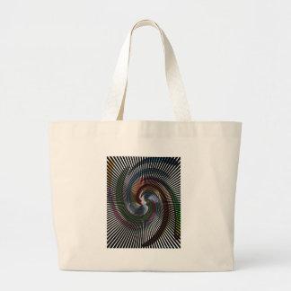 Schöne abstrakte Digital-Kunst - heraus der Jumbo Stoffbeutel