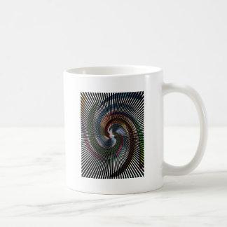 Schöne abstrakte Digital-Kunst - heraus der Tasse
